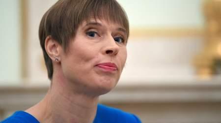 Эстонский президент Кальюлайд сделала резкий выпад в адрес России