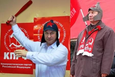 Коммунист Рашкин сговорился с госдеповской подстилкой Навальным – заговоры в КПРФ