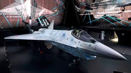 Путину показали российский истребитель пятого поколения